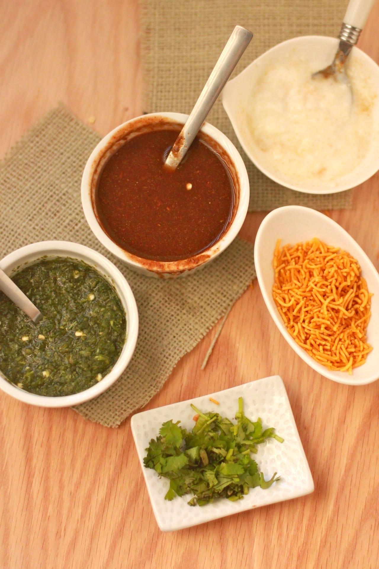 Papri Chaat - Indian Street Food treat - Guest Post for Shulie @ Food Wanderings 2