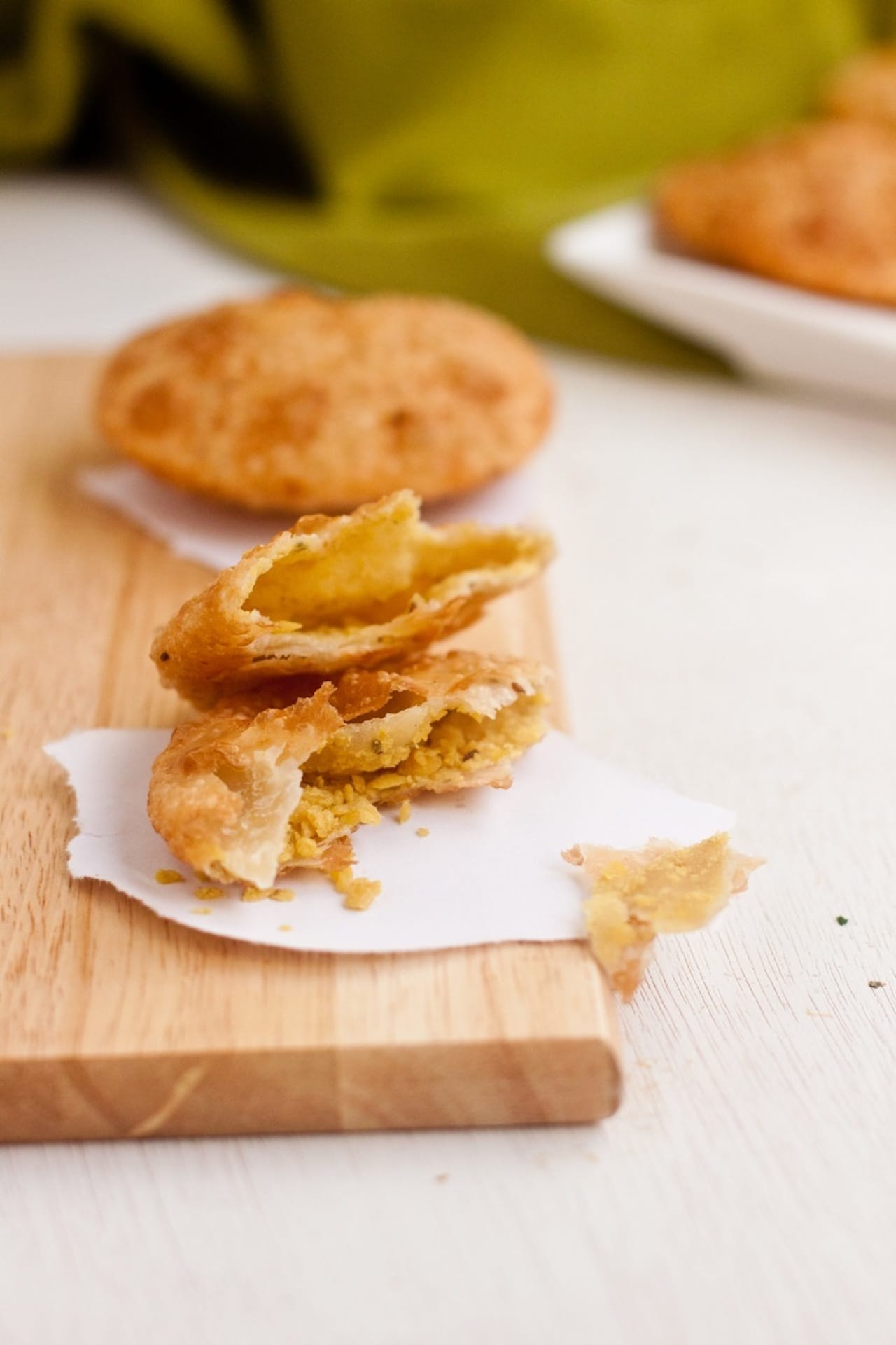 Daal Poori/ Deep fried Indian bread stuffed with Lentils -- Guest Post for Radhika @ Food for 7 Stages of Life 3