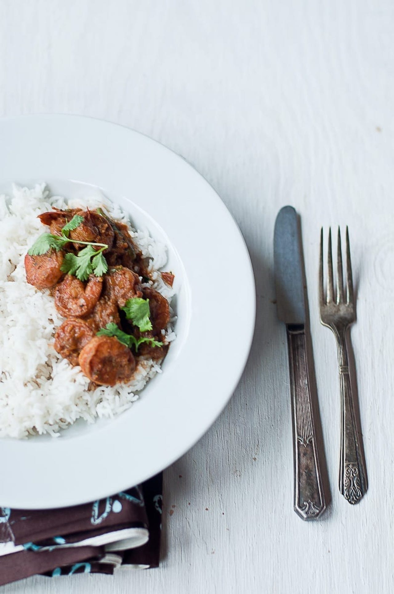 Madras Shrimp Masala - Guest Post by Radhika @ Food for 7 Stages of Life 5