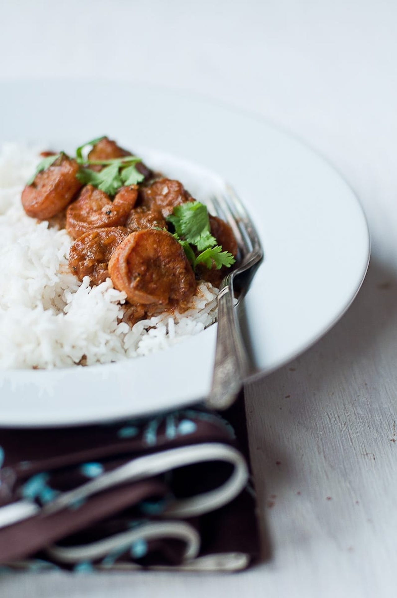 Madras Shrimp Masala - Guest Post by Radhika @ Food for 7 Stages of Life 1