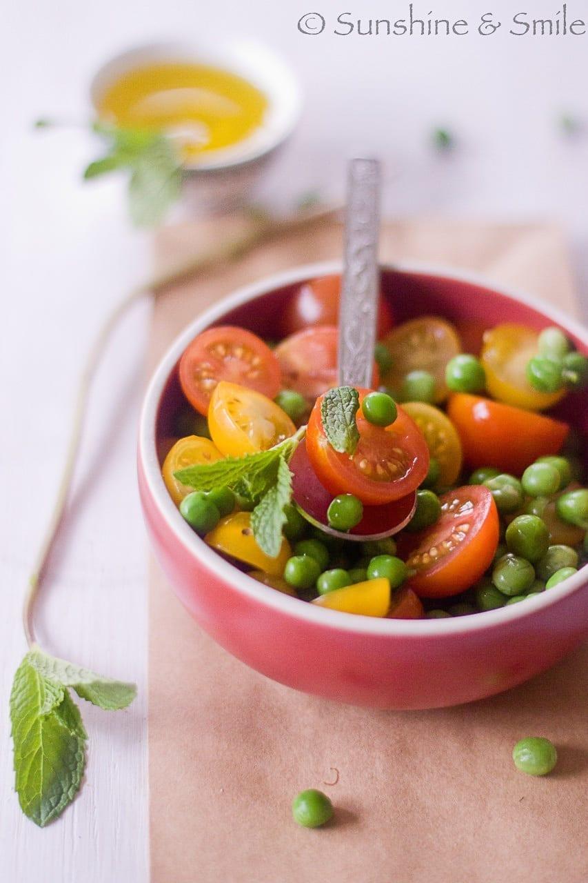 Artichoke and Tomato Salad Tarts - DHSP Challenge #7 2