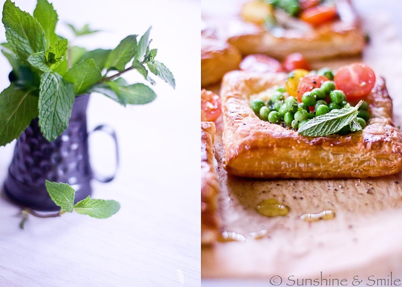 Artichoke and Tomato Salad Tarts - DHSP Challenge #7 1