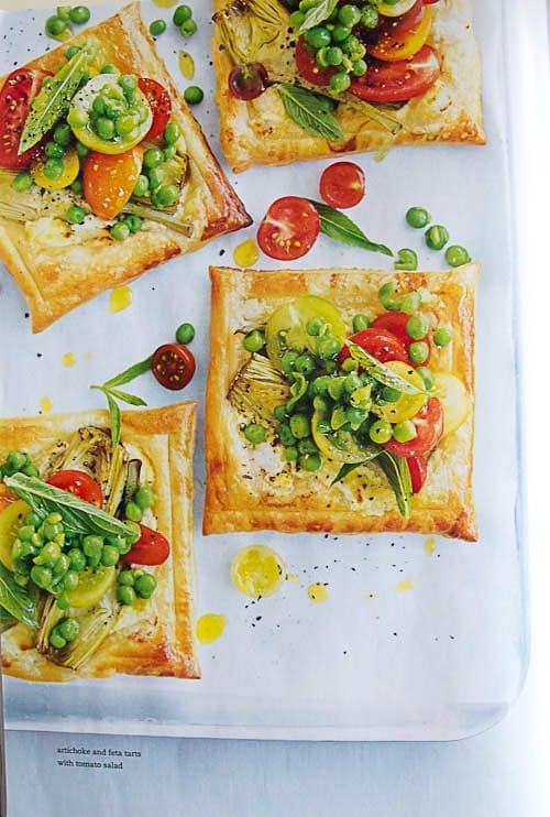 Artichoke and Tomato Salad Tarts - DHSP Challenge #7 3