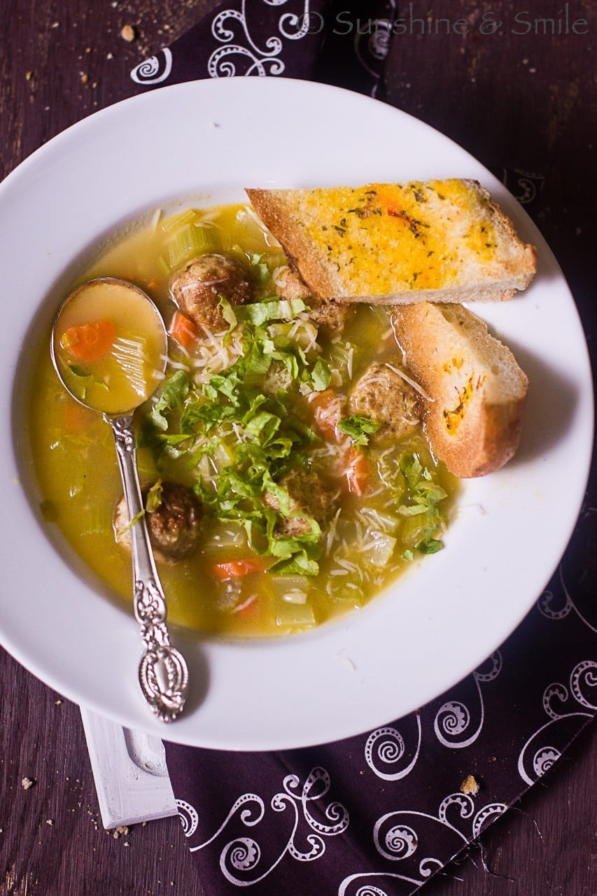 Chicken and Orzo Light Soup 4