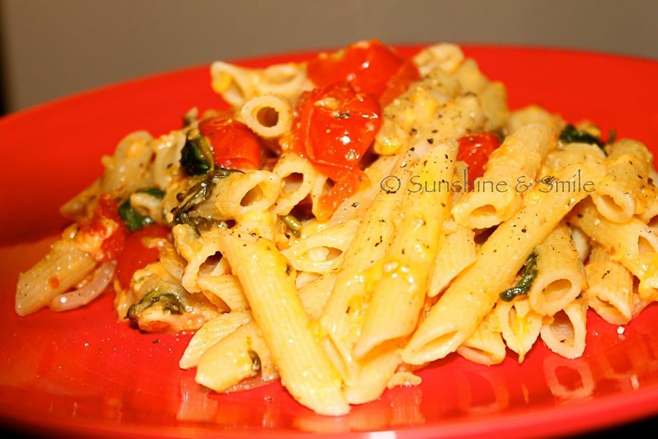 pearl tomato pasta