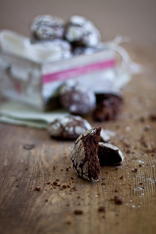Chocolate Crinkle Cookies 3