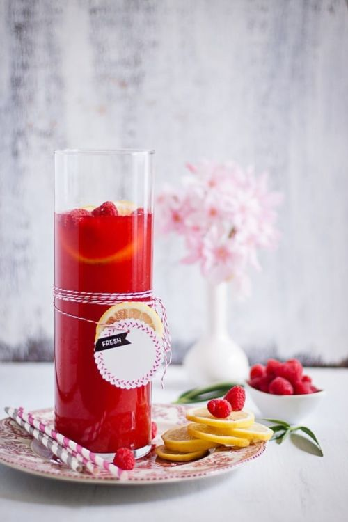 raspberry lemon ice tea 2