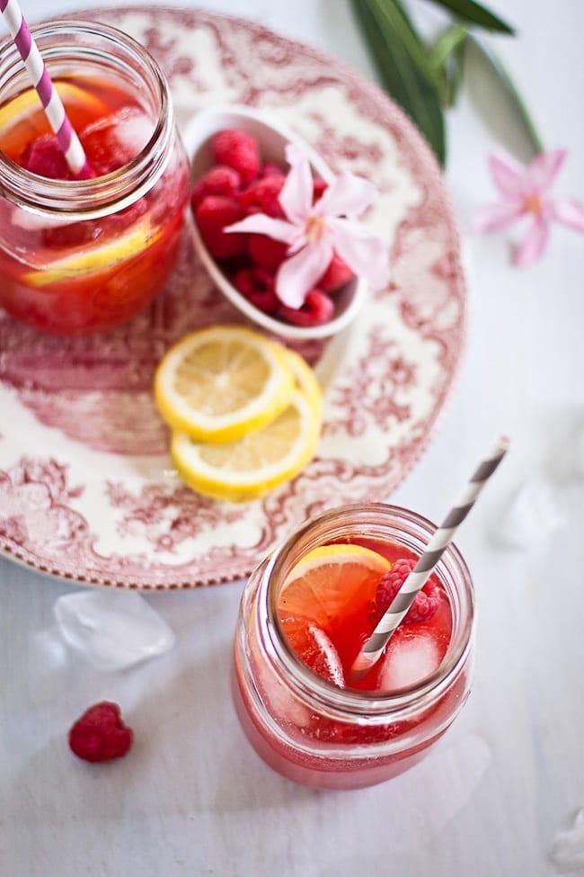 Raspberry Lemon Iced Tea 4