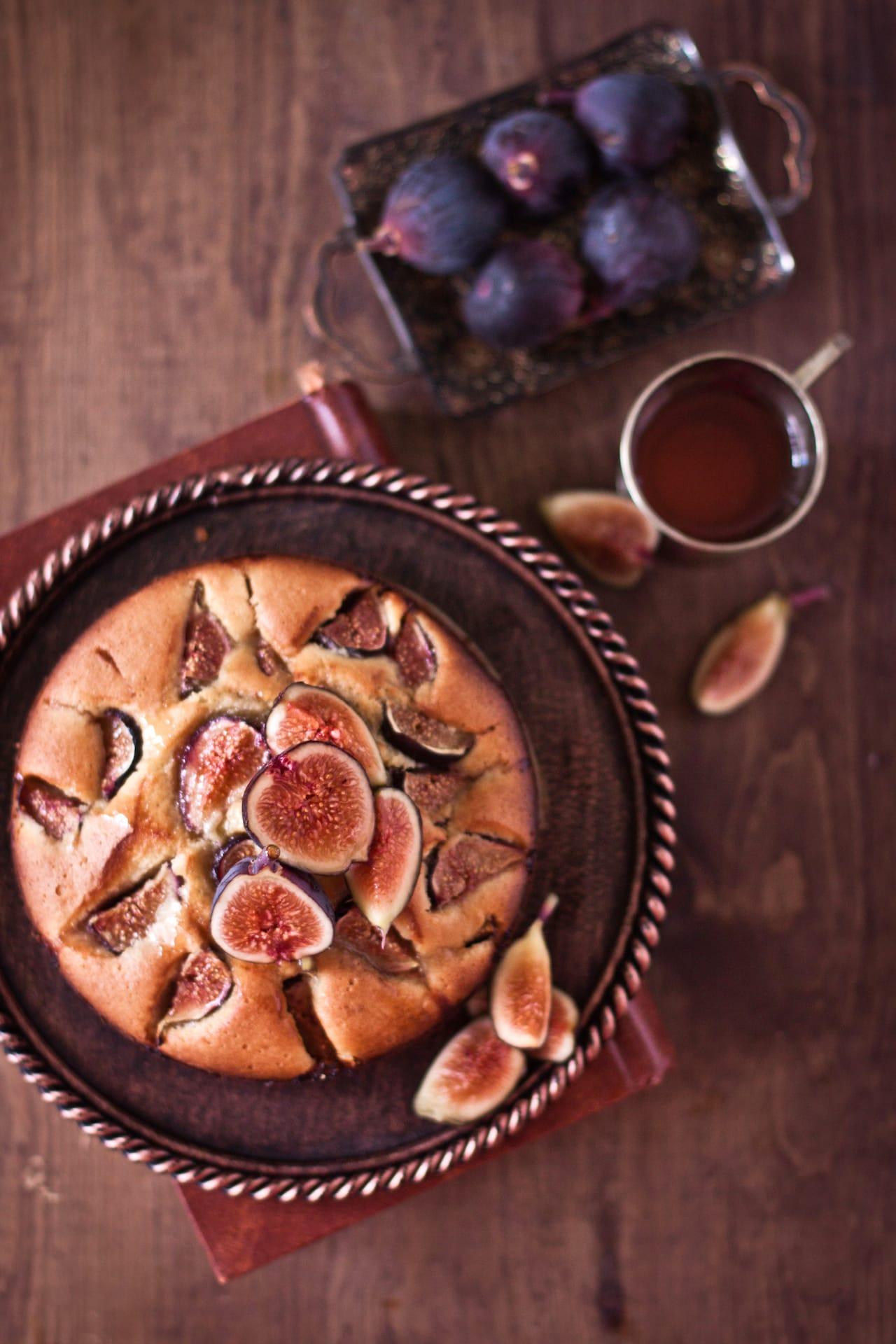 Honeyed Fig Cake 1