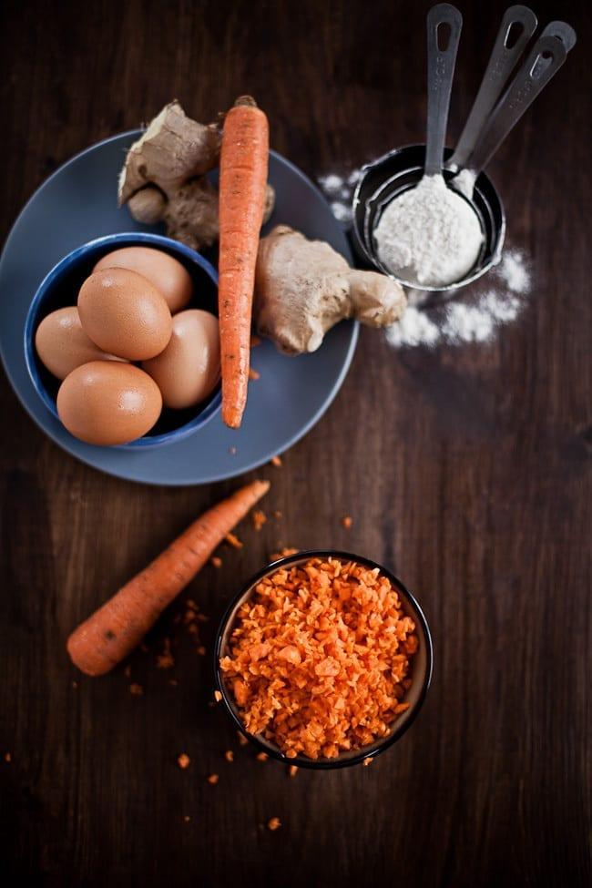 Carrot Ginger Mini Bundt Cake 3
