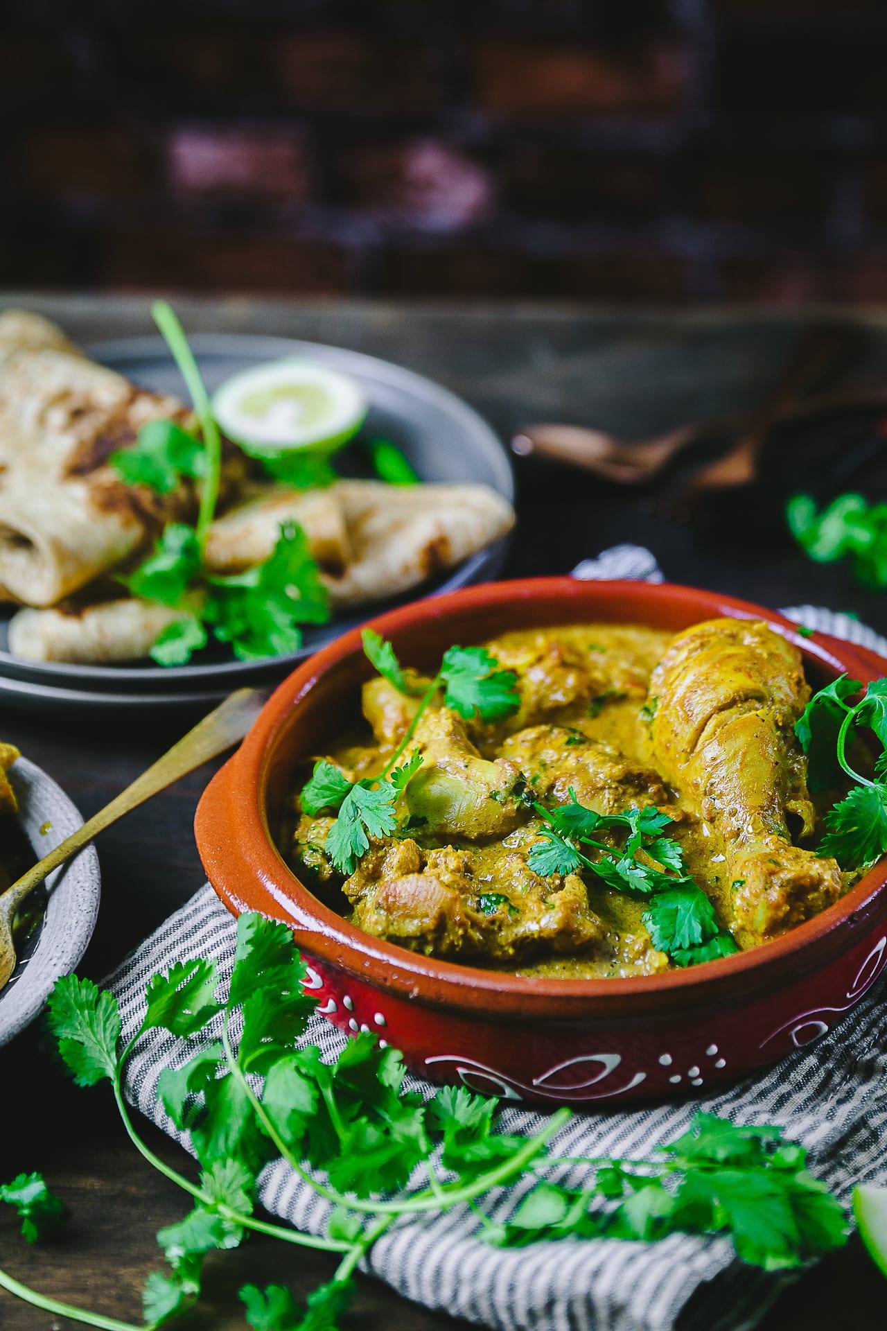 Murgh Korma (Chicken in Nutty Sauce)