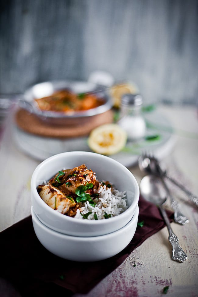 Zesty Fish Curry with Coconut Milk 1