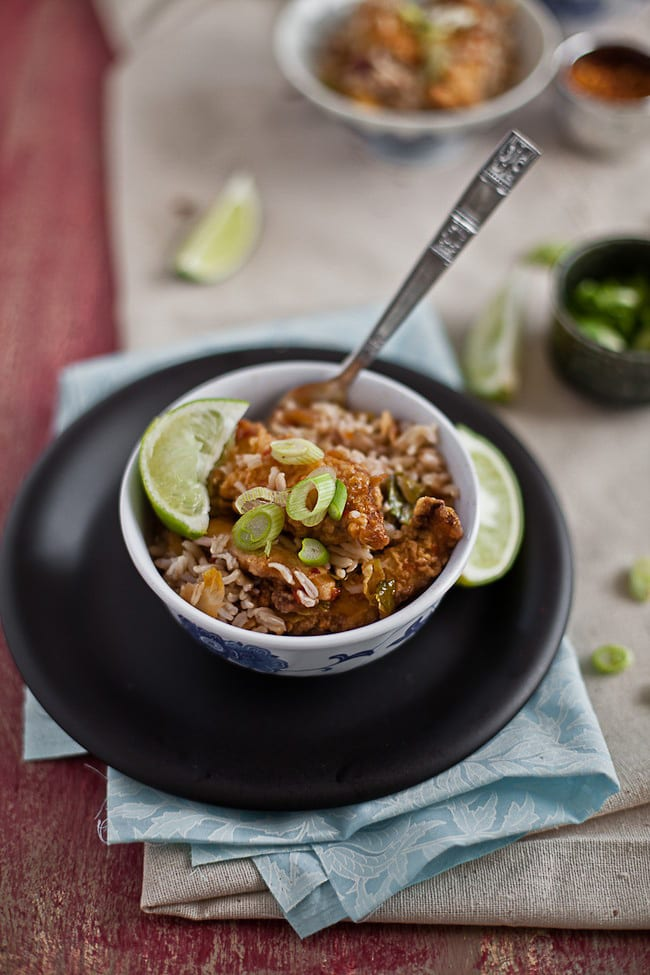 Asian Chicken Fried Rice 4