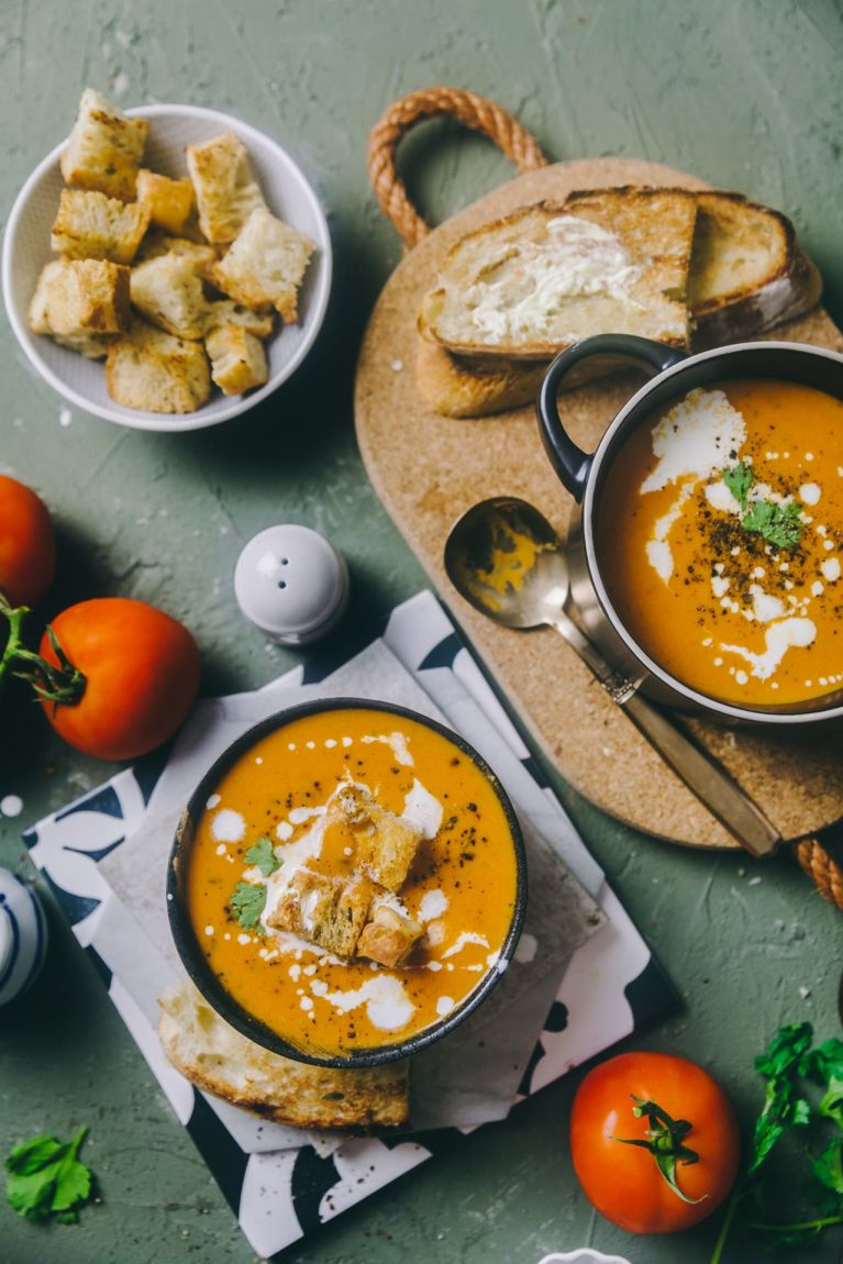 Shorba - Indian spicy Soup : Playful Cooking