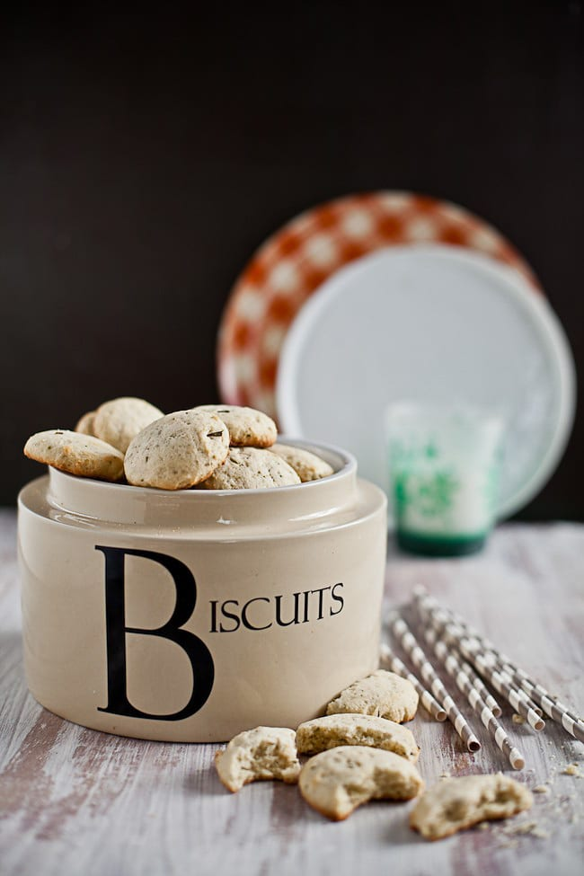 Fennel and Rosemary Butter Biscuits : Sunshine and Smile