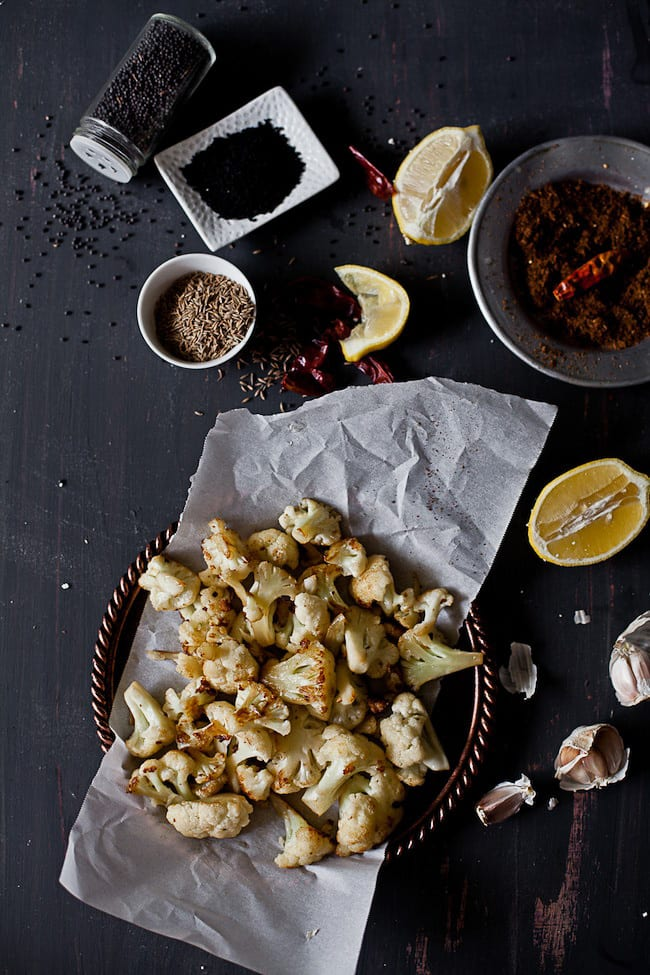 Ingredients for Cauliflower in pickled sauce