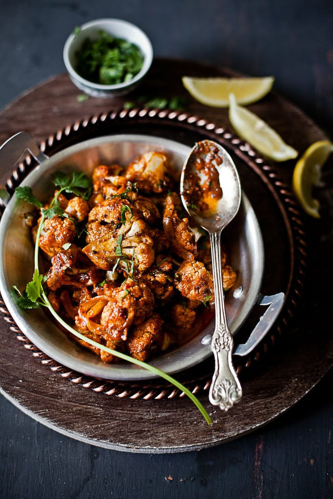 Achari Gobi - Cauliflower in pickled sauce