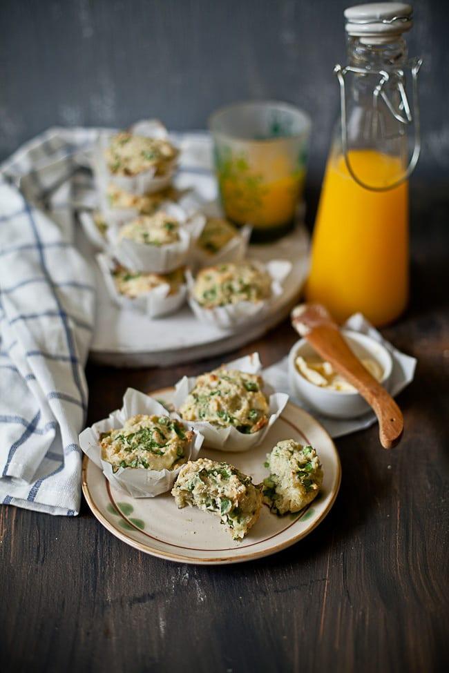 Savory Quinoa Breakfast Muffins | Sunshine and Smile #muffins #quinoa #breakfast