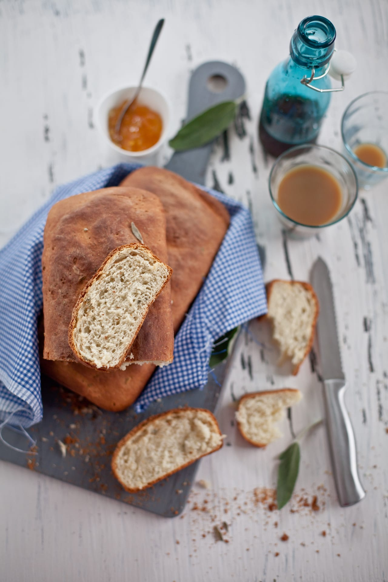 Ricotta and Sage Bread | Playful Cooking