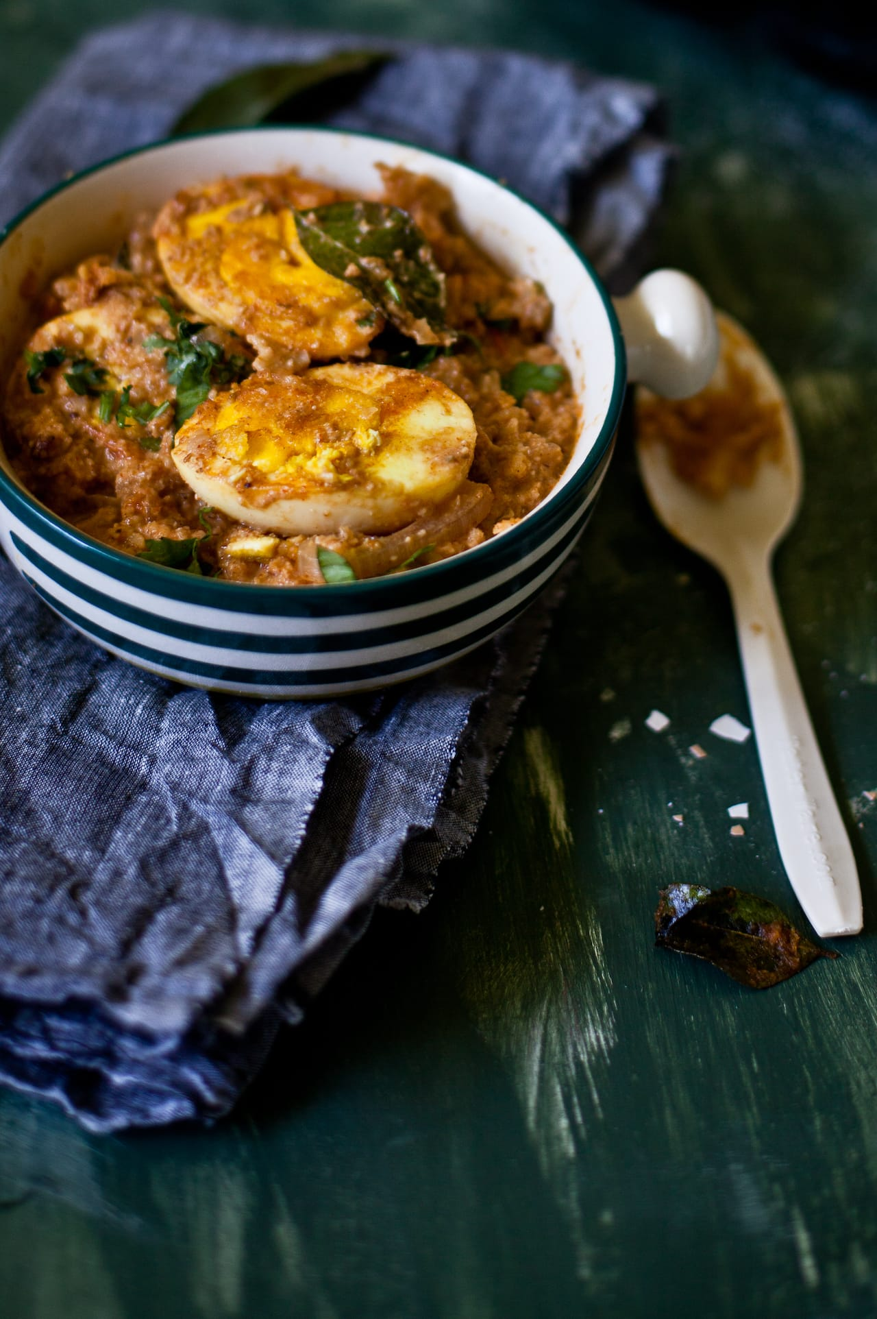 Coconut Egg Curry | Playful Cooking