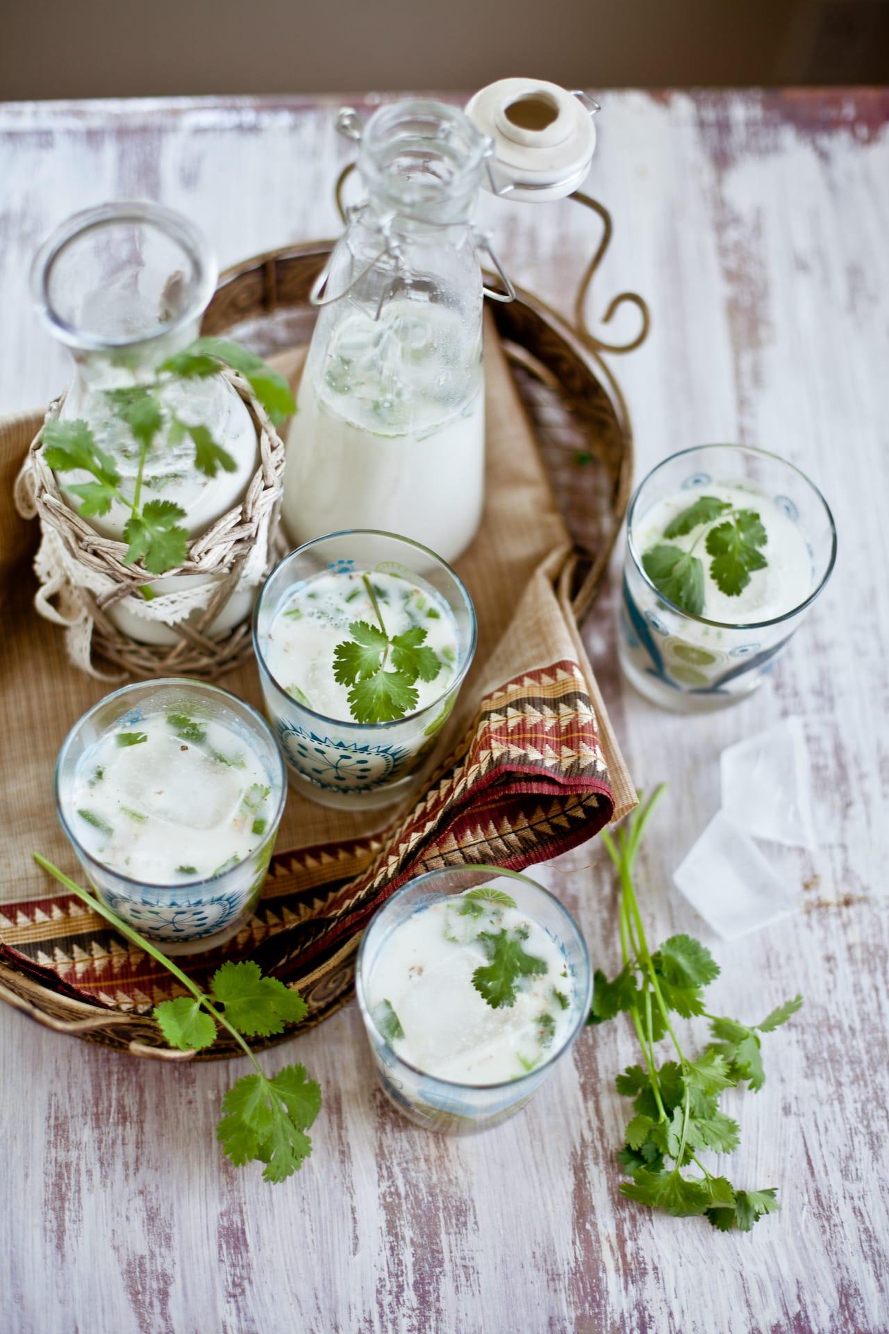 Mattha (Indian Spiced Yogurt Drink) | Playful Cooking