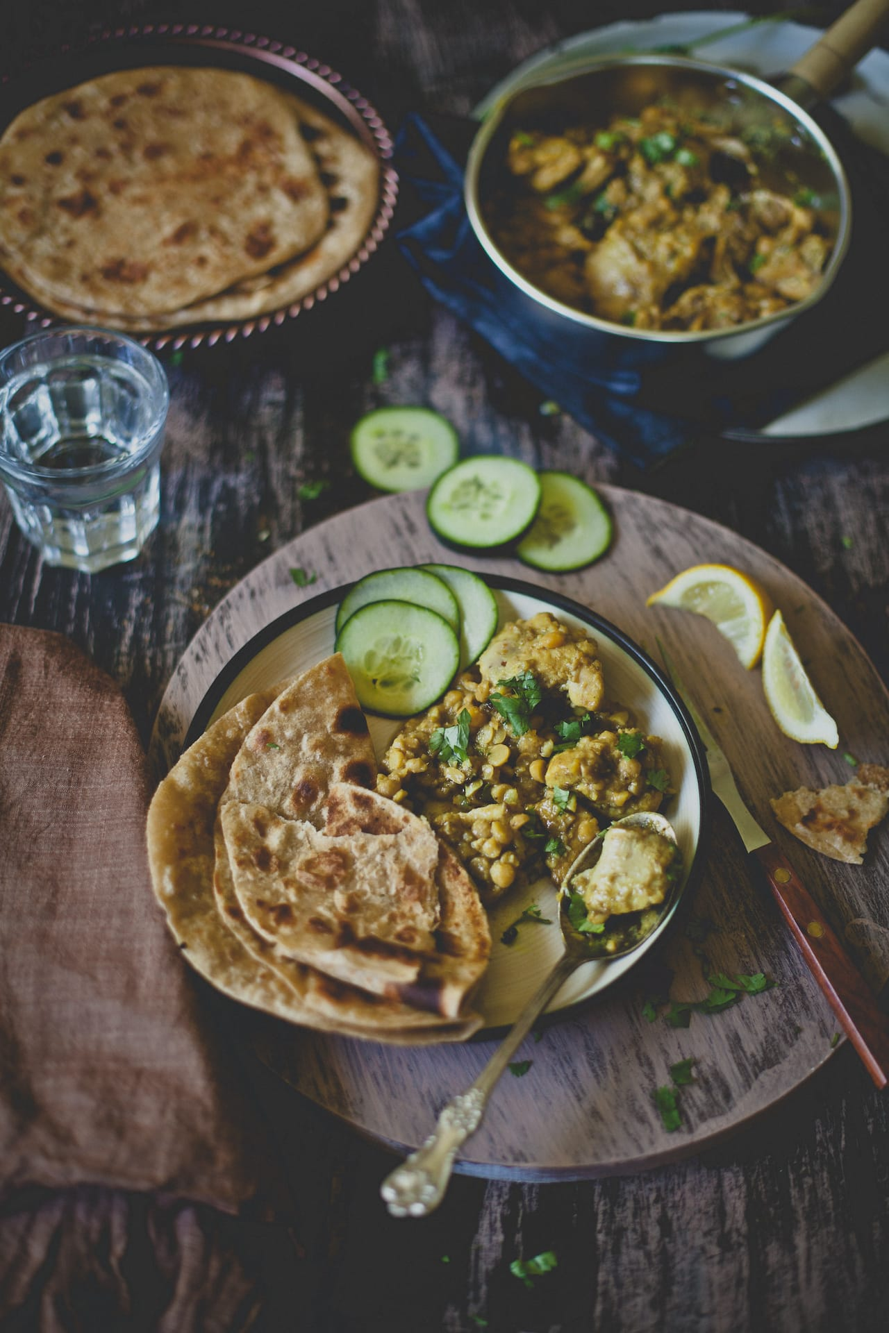 Murg Dhansak (Chicken cooked with lentils) | Playful Cooking