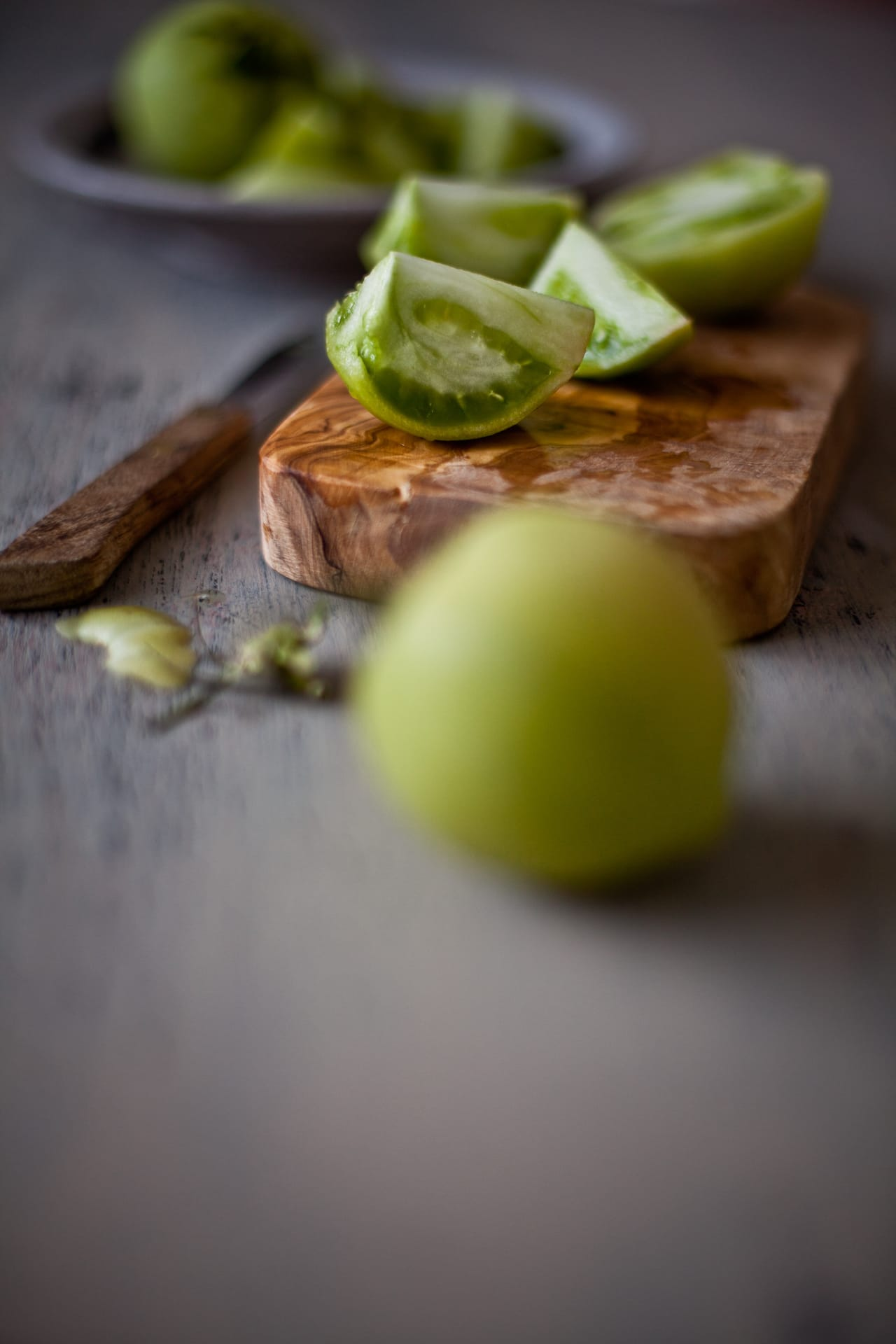 Green Tomatoes   Playful Cooking