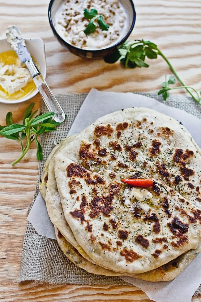 Aalu Methi Naan   Playful Cooking