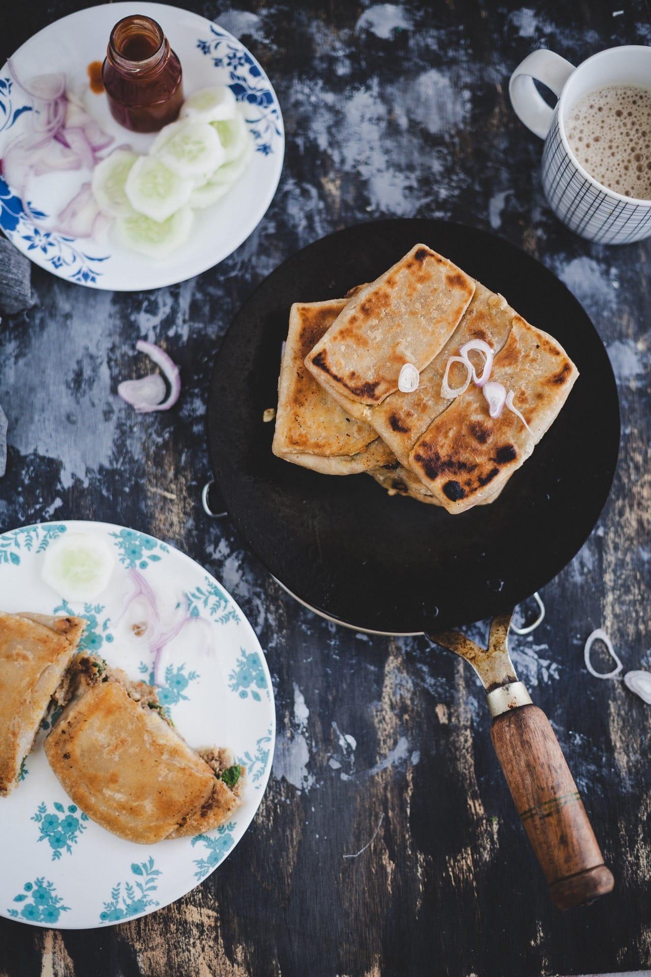 Mughlai Paratha | Playful Cooking