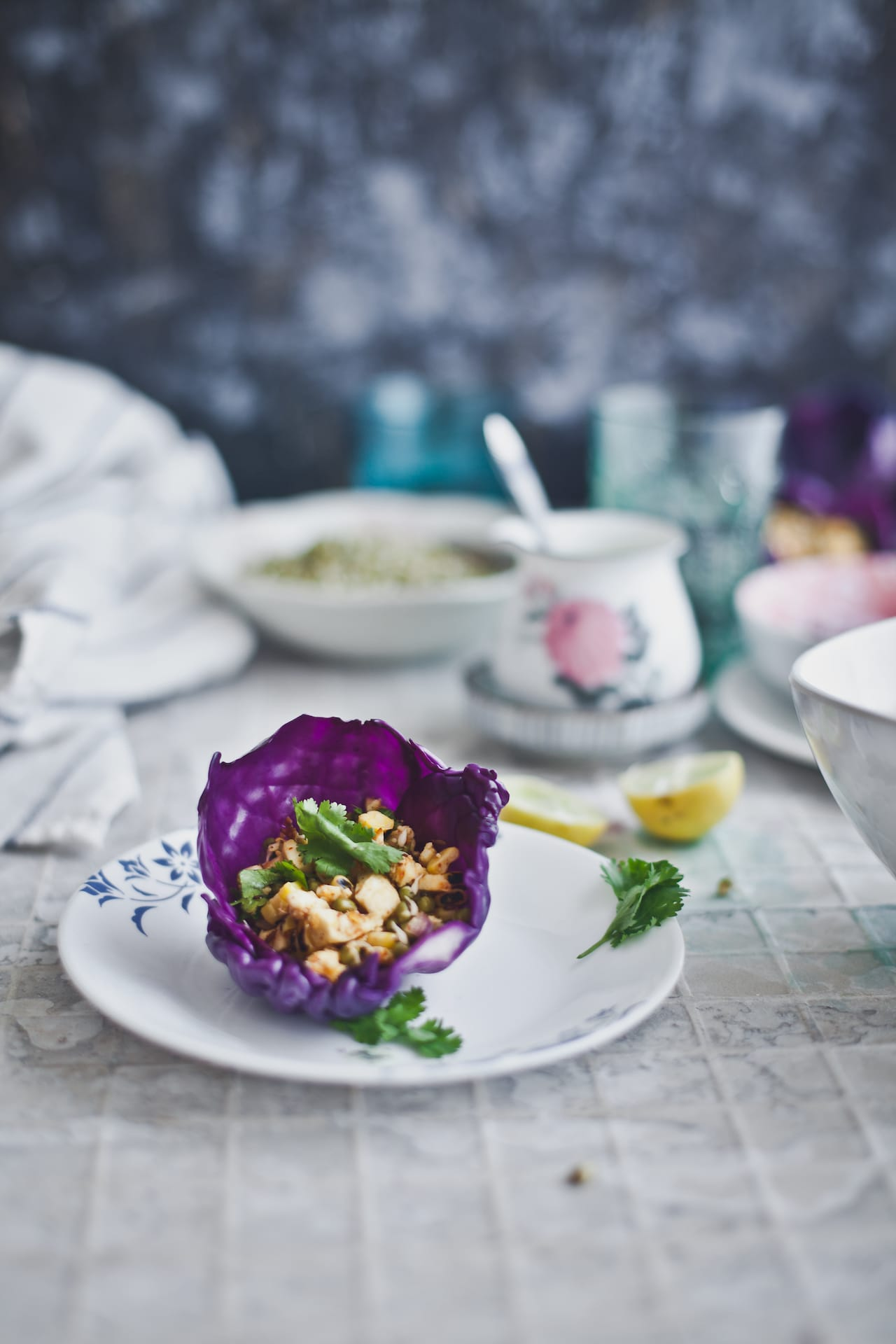 Paneer Corn Cabbage Cups | Playful Cooking