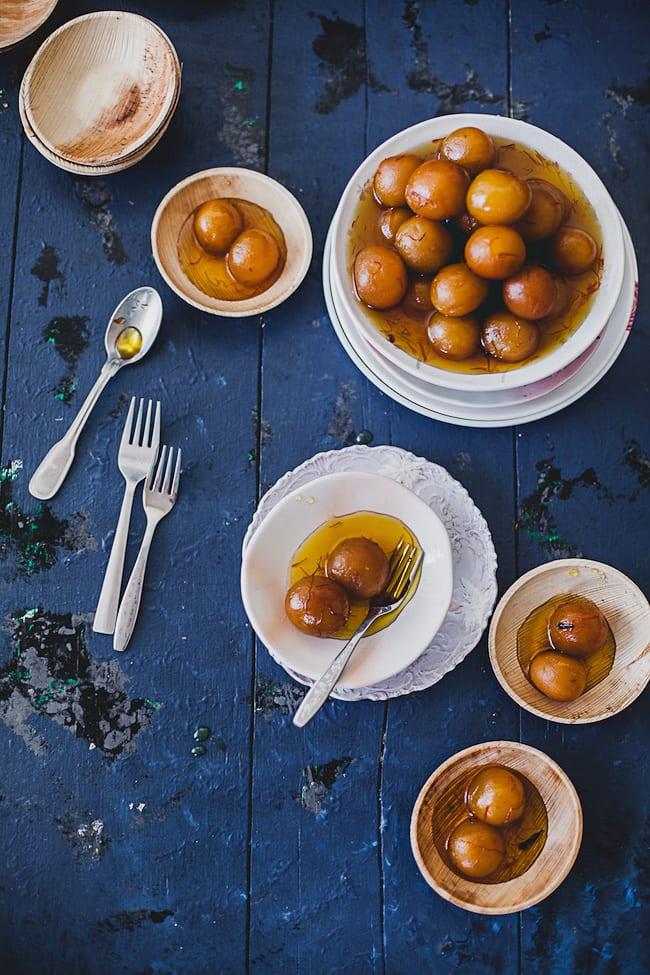 Gulab Jamun with Sweet Potatoes | Playful Cooking