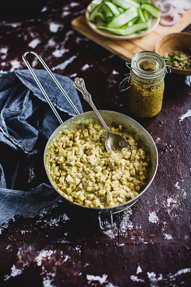 Kashundi Paneer Naan Calzone   Playful Cooking