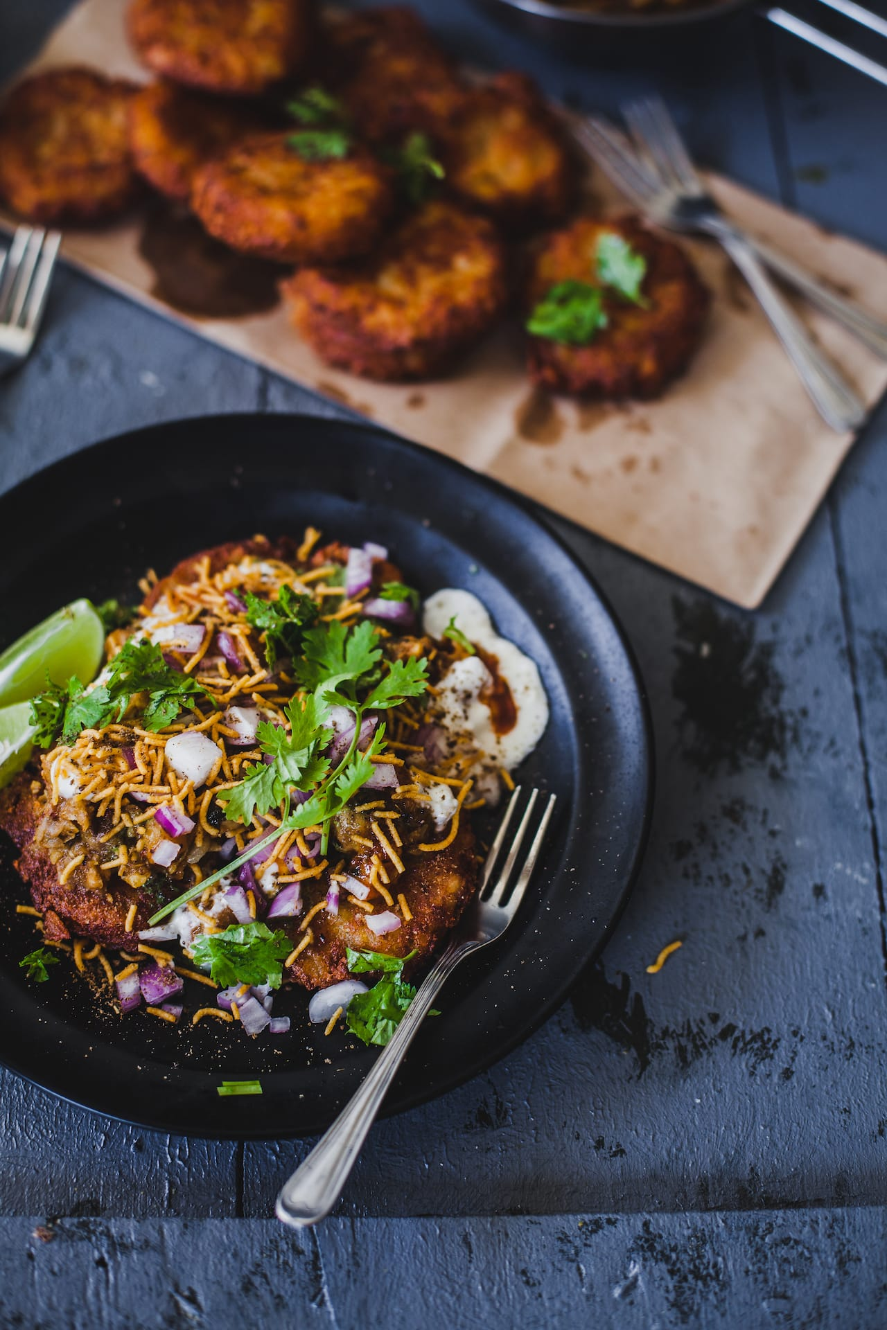 Aloo Tikki Chaat | Playful Cooking