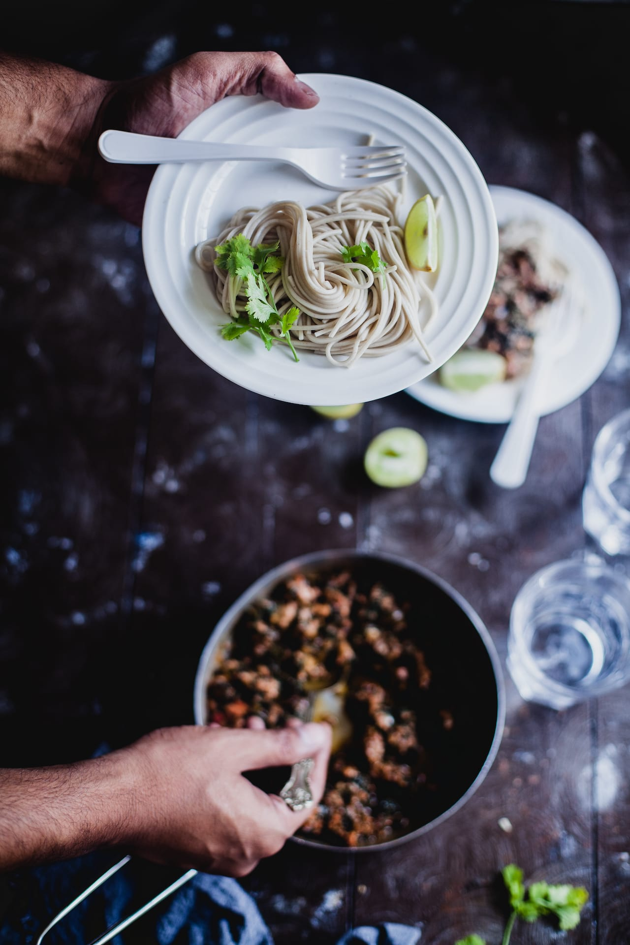 Spinach Chicken Soba Noodle | Playful Cooking