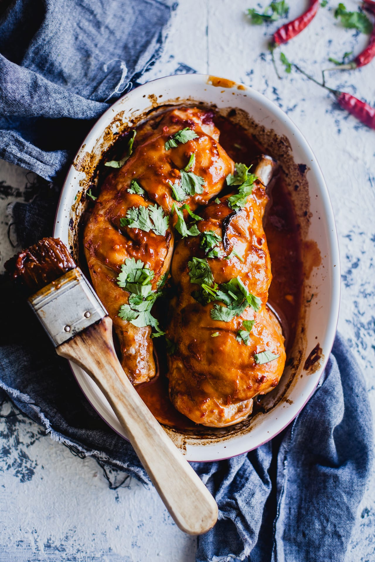 Sweet And Spicy Chicken Thigh | Playful Cooking