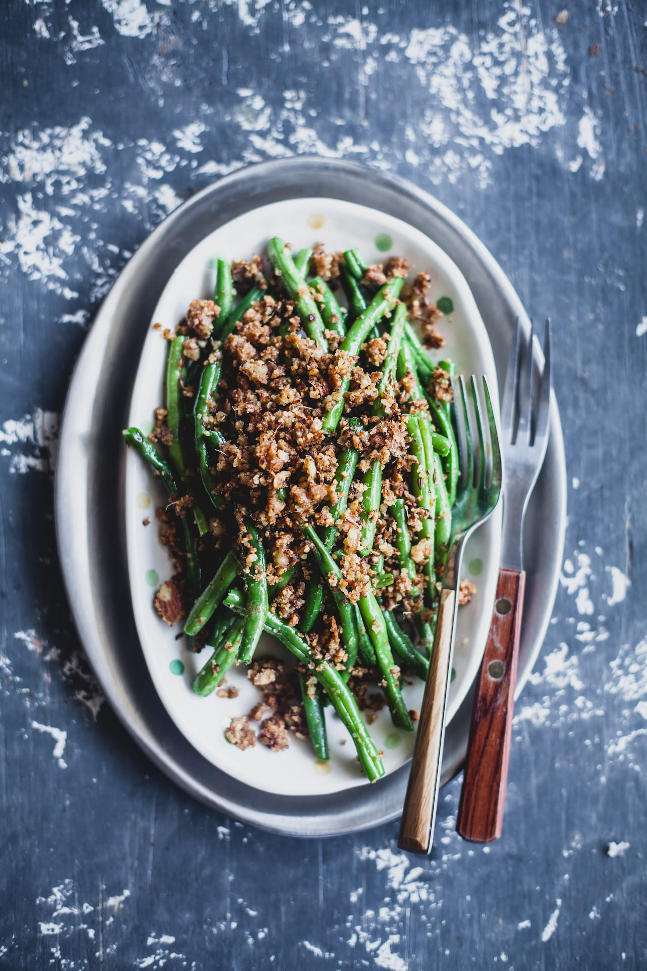 Almond and Coconut Crusted Green Beans   Playful Cooking