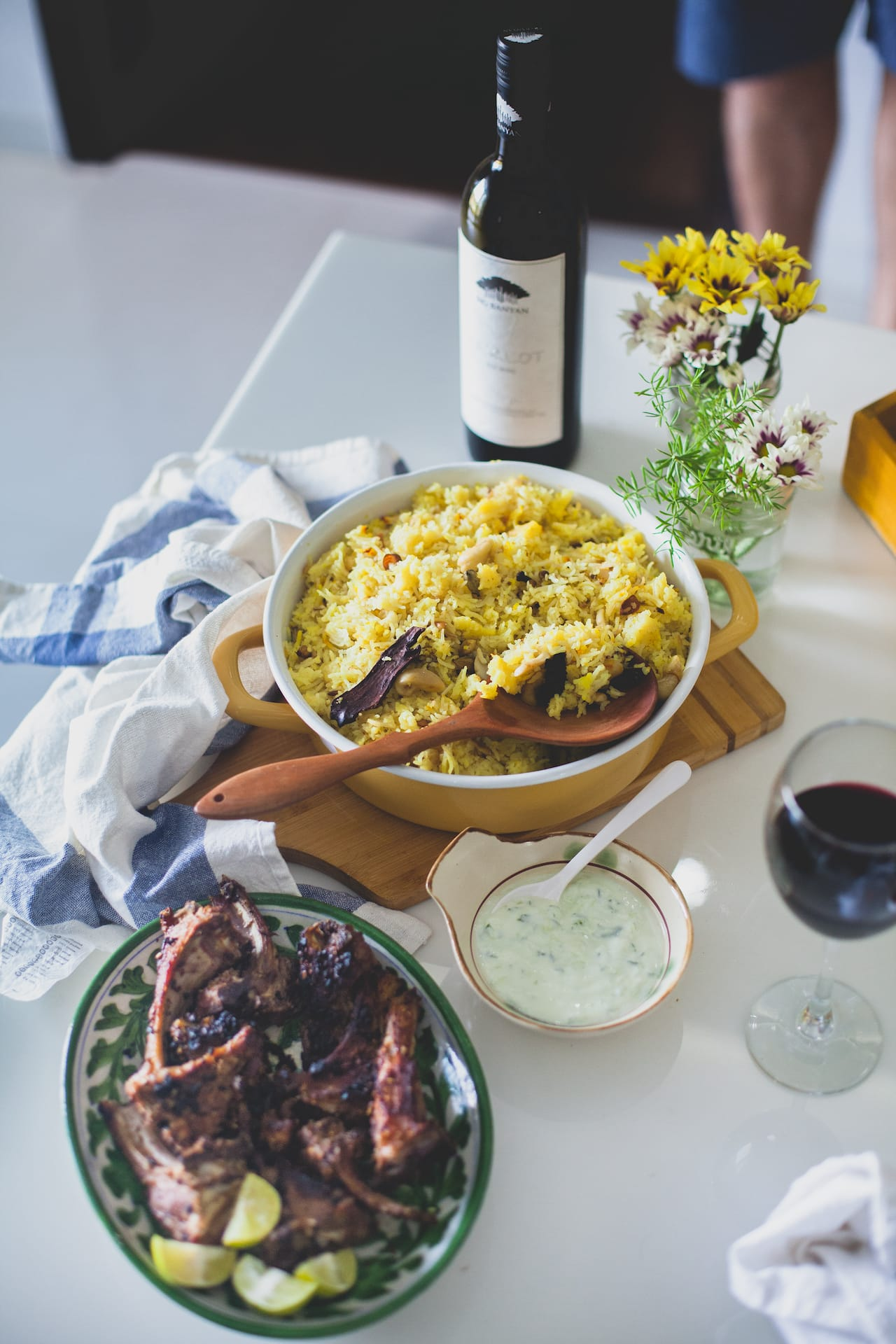 Summer Brunch Spread With Big Banyan Wine | Playful Cooking