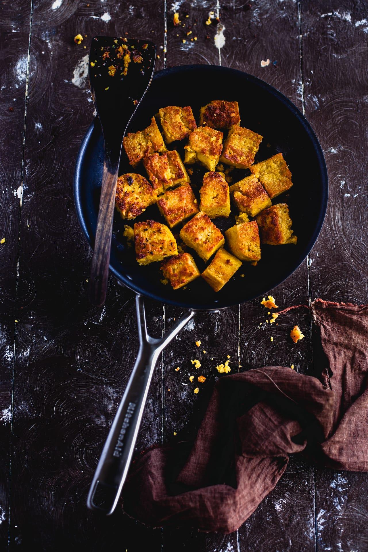 Besan Ki Sabzi (Chickpea Cake Stir Fry)   Playful Cooking