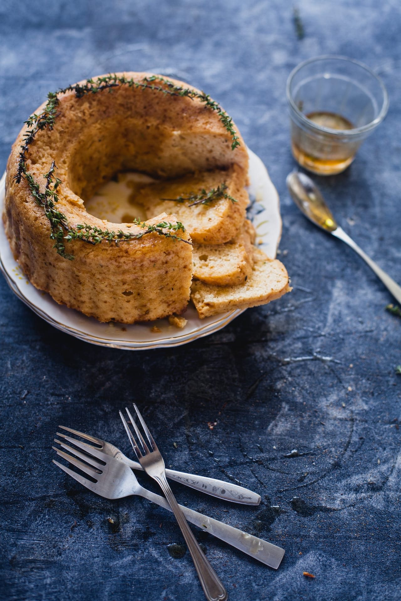 Honey and Thyme Bundt Cake   Playful Cooking