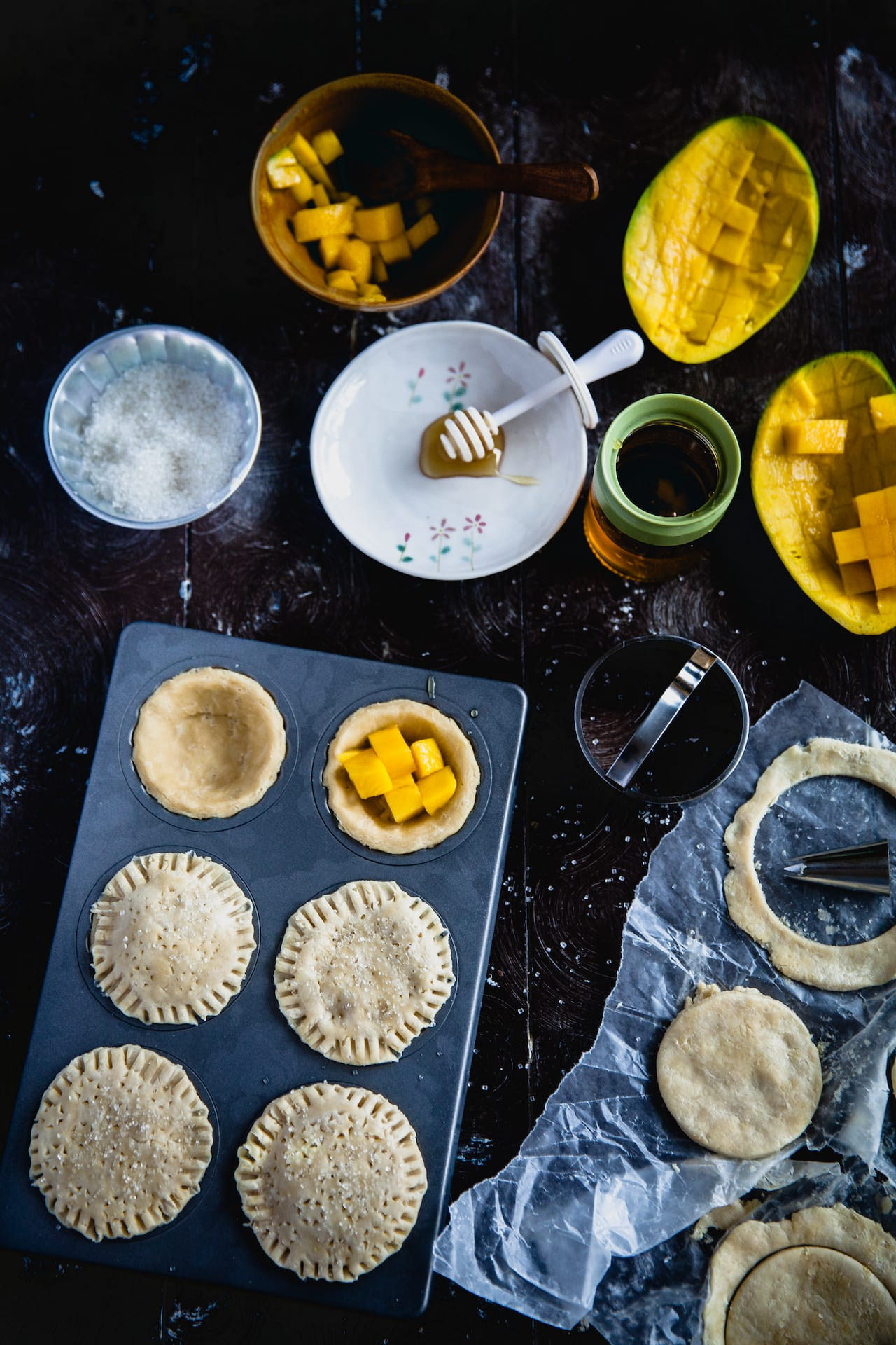 Mango Mini Pies | Playful Cooking