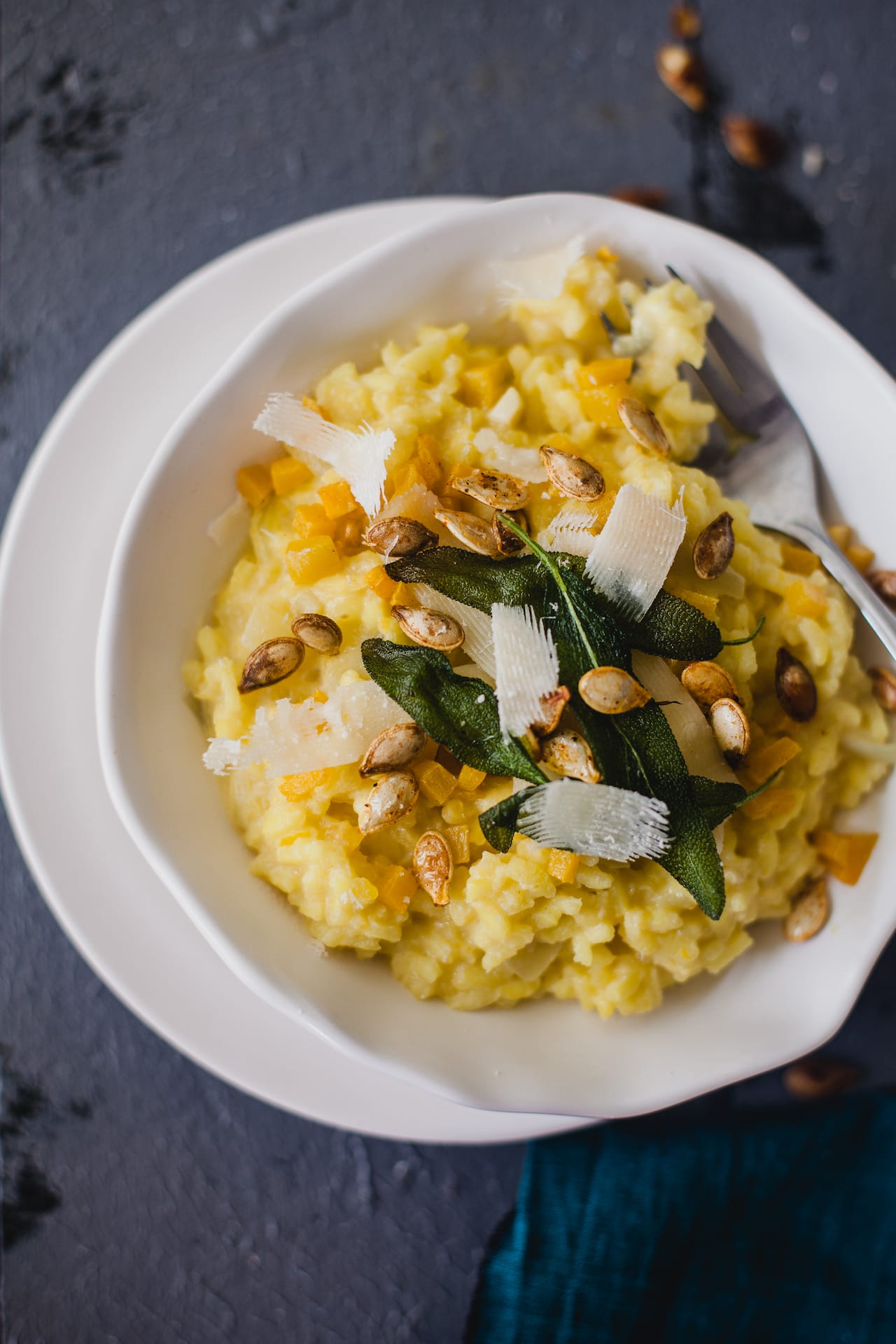 Roasted Pumpkin Risotto | Playful Cooking