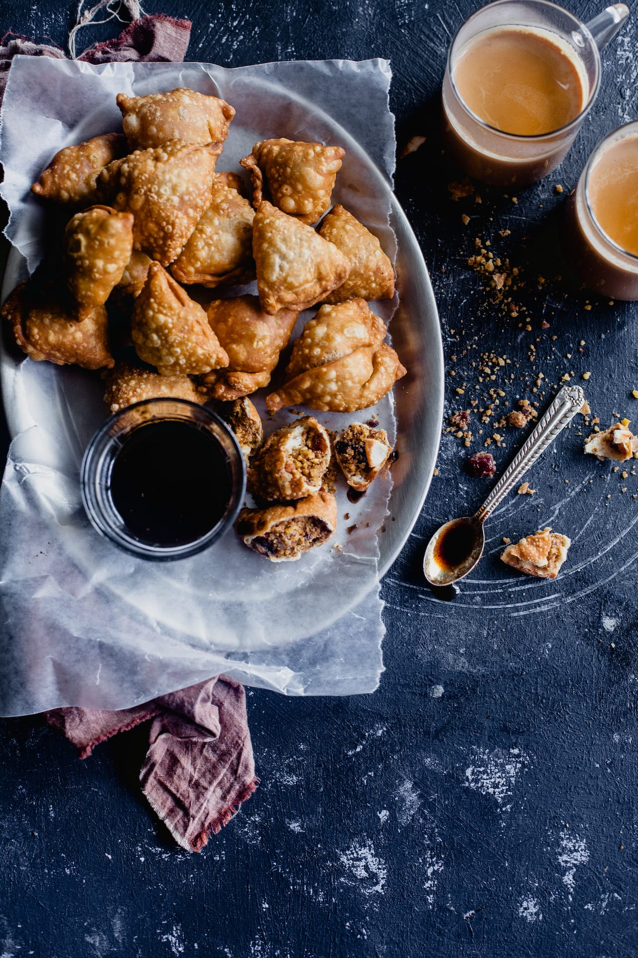 Dry Fruit Samosa Snack And Fingerfood Playful Cooking