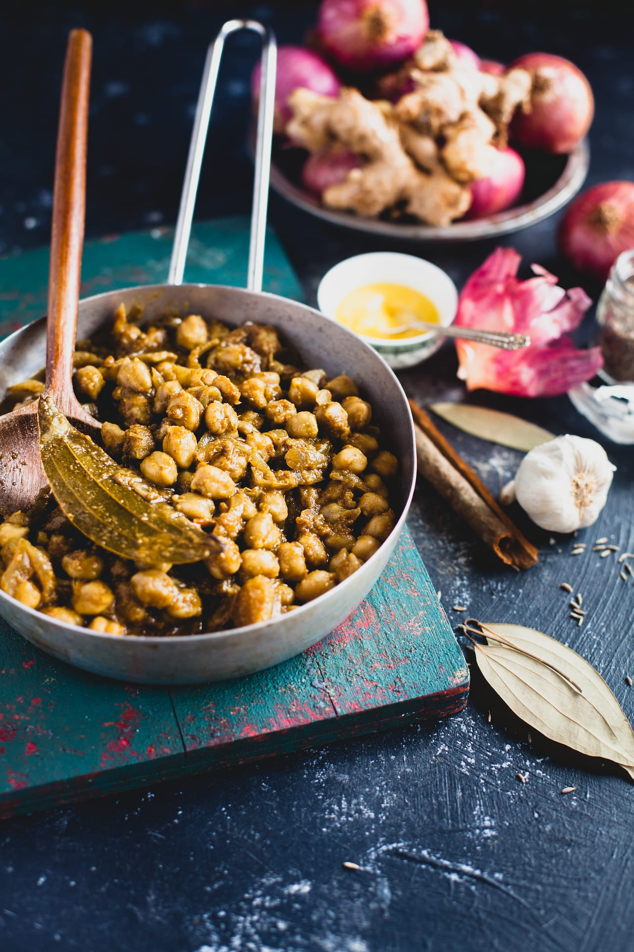 Chole Taco (Chickpea Stew Taco)  Playful Cooking