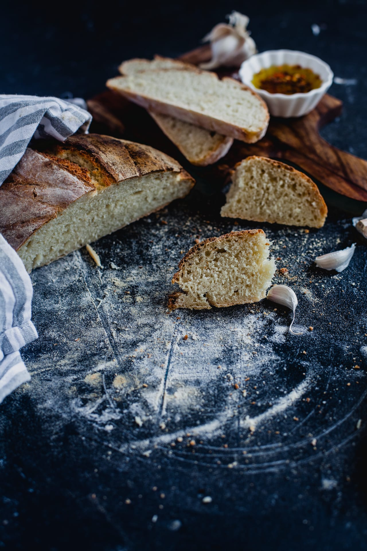 Rustic White Bread 02