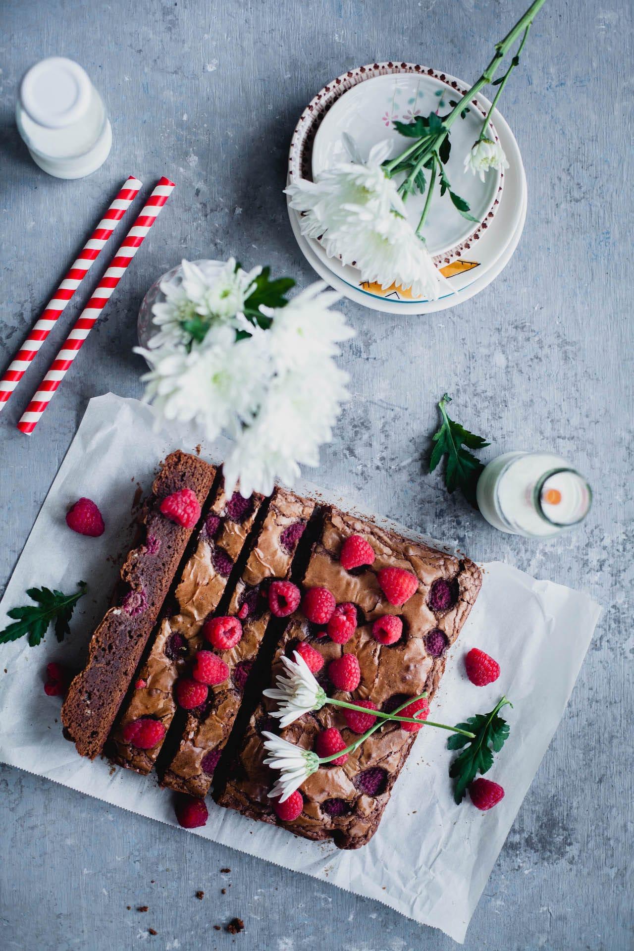 Raspberry Brownies   Playful Cooking #raspberry #brownie #easy #baking
