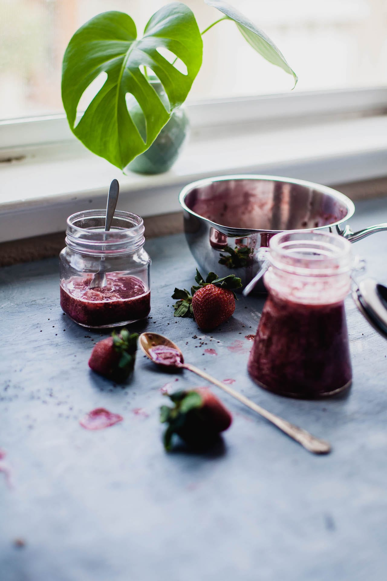 Strawberry Chia Compote   Playful Cooking
