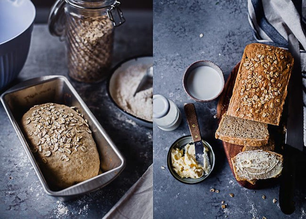 Flax And Oats Wheat Bread 4