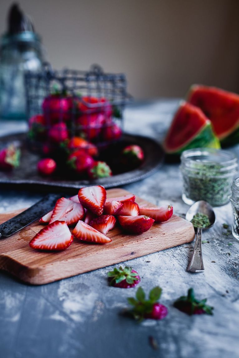 Strawberry And Watermelon Spicy Gazpacho | Playful Cooking