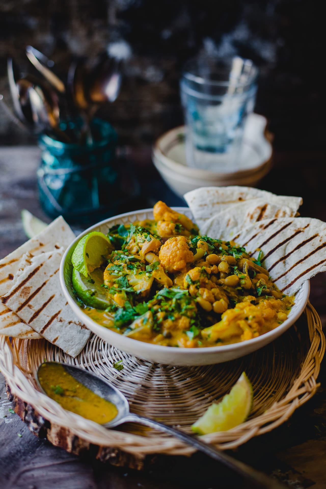 Cauliflower White Beans and Coconut Stew | Playful Cooking