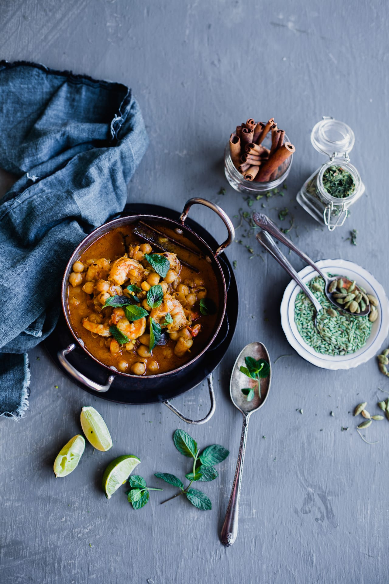 Chickpea Shrimp In Makhani Sauce | Playful Cooking